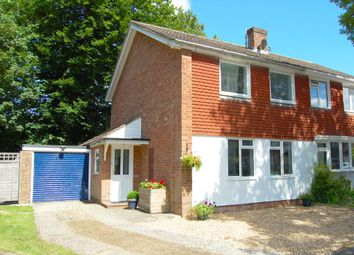 Thumbnail 3 bed semi-detached house for sale in Phillips Crescent, Headley, Bordon