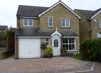 Thumbnail 4 bed detached house for sale in Highcliffe Court, Shelf, Halifax