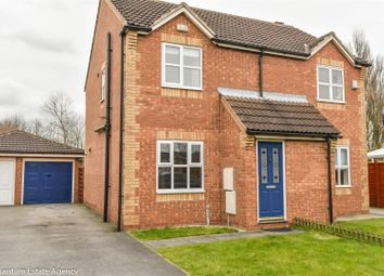 Thumbnail 2 bedroom semi-detached house to rent in Peartree Close, Barlby, Selby