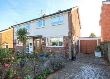 Thumbnail 3 bed detached house for sale in Barbara Close, Church Crookham, Fleet