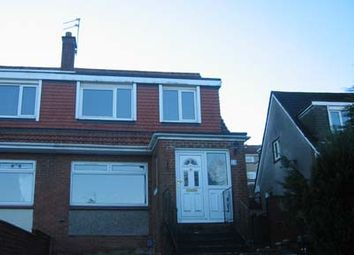 Thumbnail 3 bed semi-detached house to rent in Vale Walk, Bishopbriggs