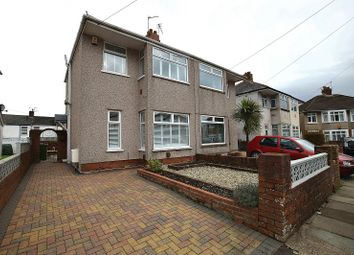 Thumbnail 3 bed semi-detached house for sale in Fairfax Road, Rhiwbina, Cardiff.