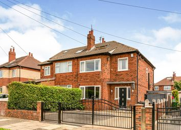 Thumbnail 3 bed semi-detached house for sale in Hawkhill Drive, Leeds, West Yorkshire