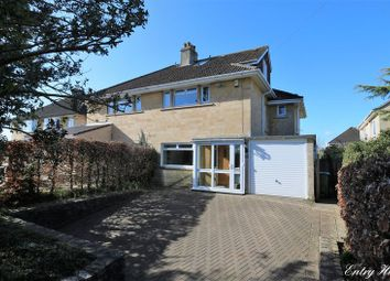 Thumbnail 4 bed semi-detached house for sale in Entry Hill, Combe Down, Bath