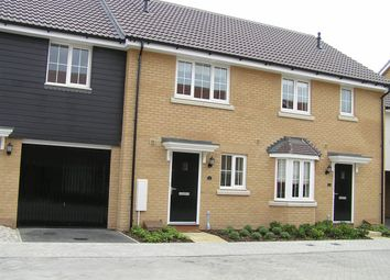 Thumbnail 2 bed terraced house to rent in Chamomile Close, Red Lodge, Bury St. Edmunds