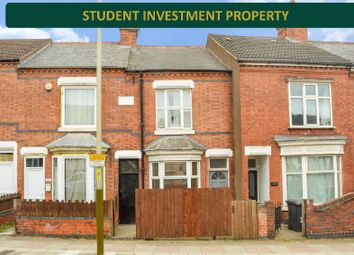 Thumbnail 3 bed terraced house for sale in Welford Road, Clarendon Park, Leicester