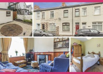 Thumbnail 2 bed terraced house for sale in Springfield Place, Canton, Cardiff