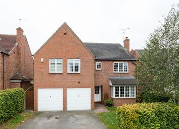 Thumbnail 7 bed detached house for sale in Woburn Close, Strensall, York