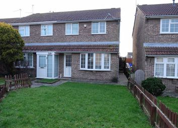 Thumbnail 3 bed semi-detached house to rent in Fonmon Park Road, Rhoose, Vale Of Glamorgan
