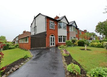 Thumbnail 3 bed semi-detached house for sale in Nursery Road, Prestwich, Manchester