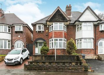 Thumbnail 3 bed semi-detached house for sale in Stockfield Road, Yardley, Birmingham, West Midlands