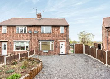 Thumbnail 2 bed semi-detached house for sale in Lumley Avenue, Hightown, Castleford