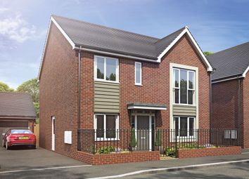 Thumbnail 4 bed detached house for sale in Plot 85 Weogoran Park, Whittington Road, Worcester