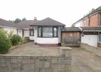Thumbnail 2 bedroom semi-detached bungalow for sale in Teesdale Avenue, Castle Bromwich, Birmingham