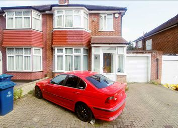 Thumbnail 3 bed semi-detached house to rent in Broomfield, Stanmore