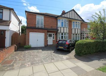 Thumbnail 4 bed semi-detached house for sale in Park Avenue, Staines Upon Thames