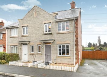 Thumbnail 3 bed semi-detached house for sale in Monument Close, Caldicot