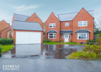 Thumbnail 5 bed detached house for sale in Bateman Close, Shobdon, Leominster, Herefordshire