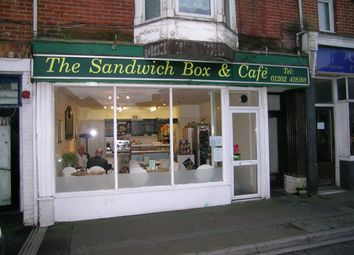Thumbnail Restaurant/cafe to let in Sandwich Shop & Cafe, Bournemouth