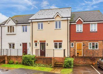 3 bed terraced house for sale in Tekram Close, Edenbridge TN8