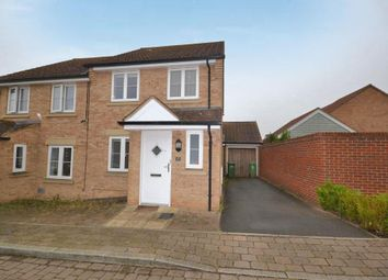 Thumbnail 3 bed semi-detached house to rent in Cagney Crescent, Oxley Park, Milton Keynes, Buckinghamshire