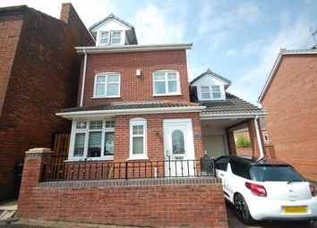 Thumbnail 4 bed detached house for sale in Clifton Street, Bilston
