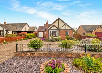 Thumbnail 3 bed detached bungalow for sale in Old Main Road, Fleet Hargate, Spalding