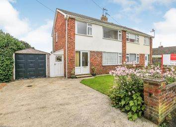 Thumbnail 3 bed semi-detached house for sale in Roman Avenue North, Stamford Bridge, York, East Riding Yorkshire