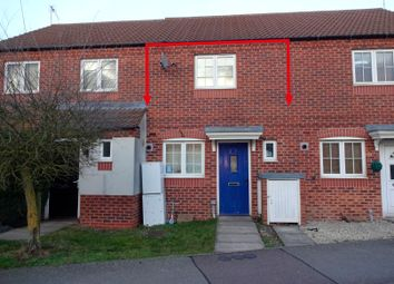 Thumbnail 2 bed town house for sale in Carty Road, Hamilton, Leicester
