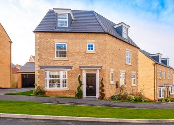 "Thumbnail 4 bedroom detached house for sale in ""Kingfisher"" at Popes Piece, Burford Road, Witney"