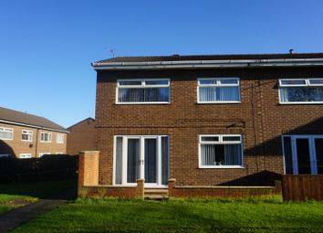 Thumbnail 3 bed end terrace house for sale in Polden Close, Peterlee