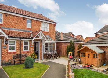 Thumbnail 3 bedroom semi-detached house for sale in Cottingham Grove, Thornley, Durham