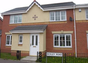 Thumbnail 3 bed semi-detached house to rent in Bickley Road, Broadacres, Bilston