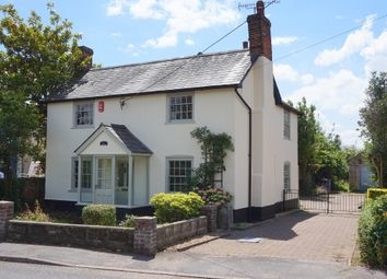 Thumbnail 4 bed detached house for sale in Heath Road, East Bergholt, Colchester