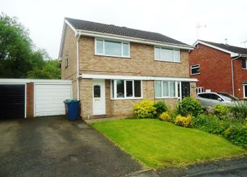 Thumbnail 2 bed semi-detached house to rent in Gladstone Way, Stafford