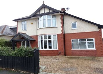Thumbnail 5 bed detached house to rent in Queens Drive, Fulwood, Preston