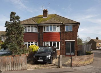 Thumbnail 3 bed semi-detached house for sale in Norman Road, Broadstairs