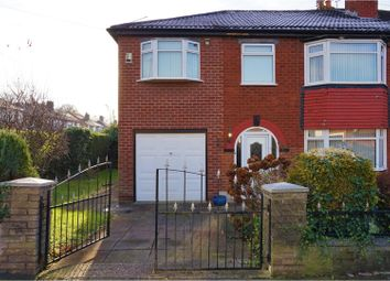 Thumbnail 4 bed semi-detached house for sale in Kinburn Road, Manchester