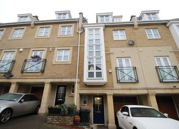 Thumbnail 4 bed terraced house for sale in Kingfisher Drive, Greenhithe