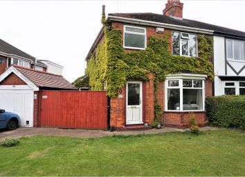 Thumbnail 3 bed semi-detached house for sale in Grantham Avenue, Scartho