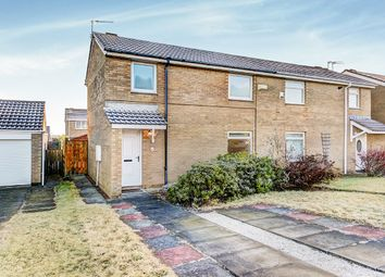Thumbnail 2 bed semi-detached house for sale in Hayton Close, Cramlington