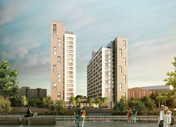 Thumbnail 2 bed flat for sale in Trafford Wharf, Manchester