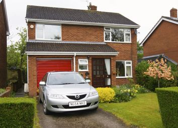 Thumbnail 4 bed detached house for sale in Lon Y Gelli, Wrexham