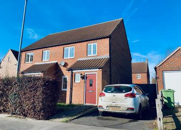 Thumbnail 3 bedroom detached house to rent in St Lawrence Drive, Bardney, Lincoln