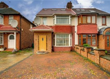 Thumbnail 4 bed semi-detached house for sale in Pennine Drive, London