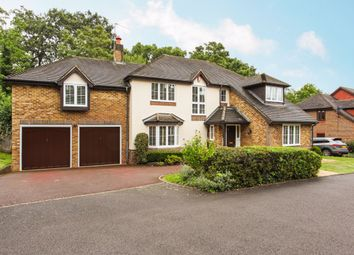 Thumbnail 5 bed detached house to rent in Rushmere Place, Englefield Green, Egham