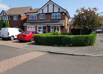 Thumbnail 5 bed detached house for sale in Condor Close, Droylsden, Manchester