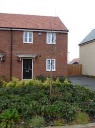 Thumbnail 3 bed semi-detached house to rent in Caber Walk, St Andrews, Bedford