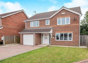 Thumbnail 4 bed detached house for sale in Fields End, Ulceby, North East Lincolnshire
