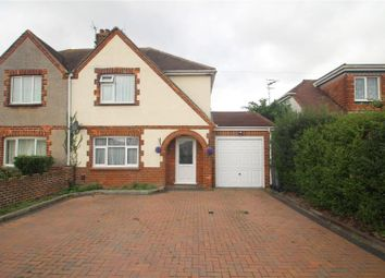 Thumbnail 3 bed semi-detached house for sale in Boundstone Lane, Lancing, West Sussex